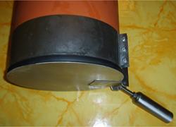 Edelstahl-Verschlußklappe - gegen Zugluft
